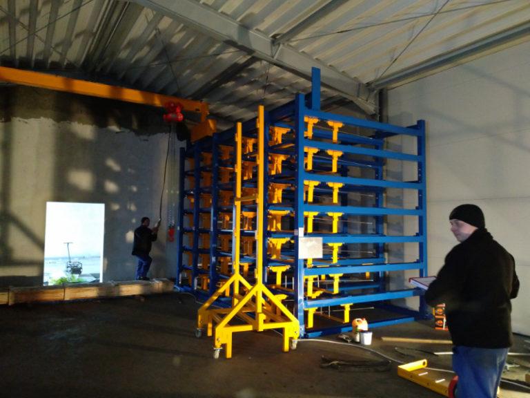 Instalaciones personalizadas puente grúa